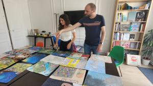 Les élèves du collège de Tubuai (Polynésie)